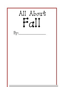 All about Fall banner