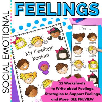 Social Emotional Learning: All about Feelings K-2