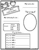 All about me - Fifth Grade {Free}