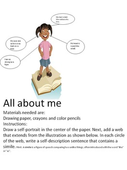 All about me! Simile Activity