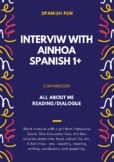 All about me activity- First Week of Spanish class