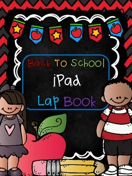Back to School - All about me iPAD LAP BOOK