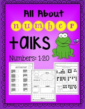 All about numbers 1-20: Number Talks