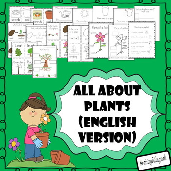 All about plants! (Spanish version available in my store a