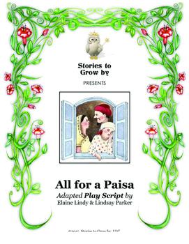All for a Paisa Play Script Reader's Theatre Drama Folk Tale