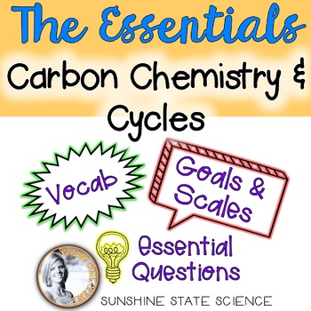 All-in-One Bulletin Board: Physical Science - Carbon Chemi