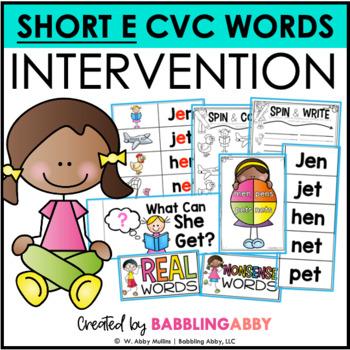 First Grade RTI Intervention: Short E