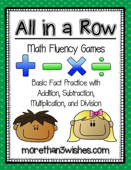All in a Row - Math Fluency Games