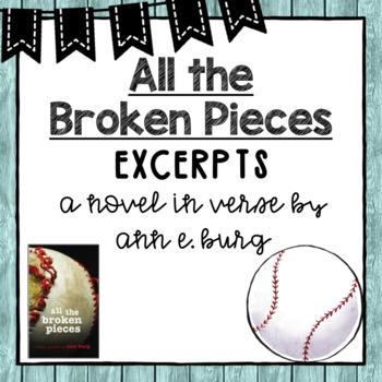 All the Broken Pieces - Excerpts