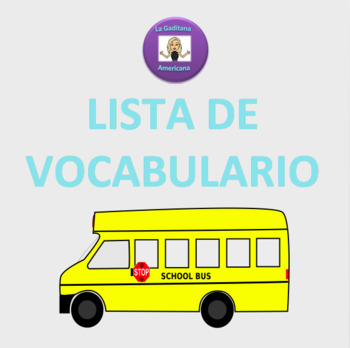 Realidades 1 Vocabulary lists PE-chapter 7A