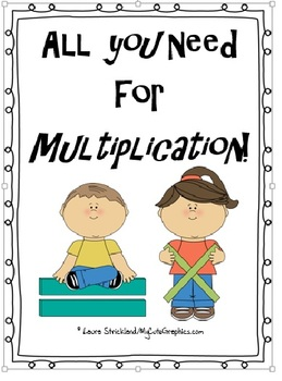 Multiplication: All you need for the basics through 2 digi