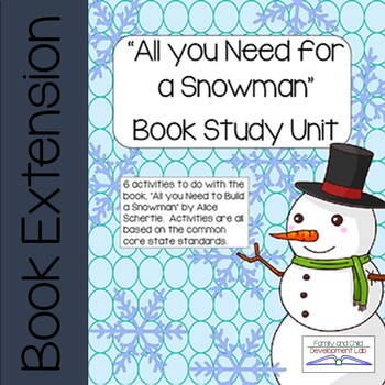 All you need for a Snowman Book Study
