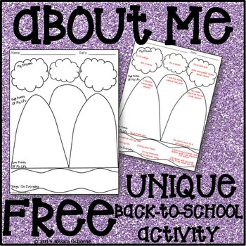 All About Me Sheet (FREE)