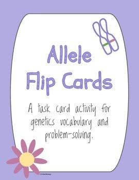 Allele Flip Cards