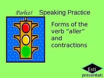 Aller and contractions_speaking practice