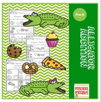 "Alligator Addition ""No Prep"""