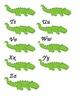 Alligator Alphabet Letter Cards