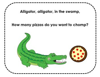 Alligator Greater Than Less Than Song Printable FREEBIE Co