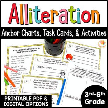 Alliteration Activities