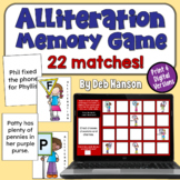 Alliteration Concentration Game