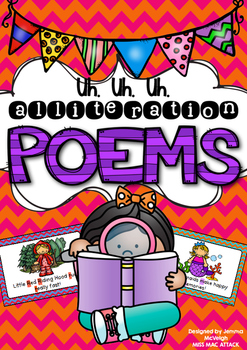 Alliteration Poems ~ Miss Mac Attack ~