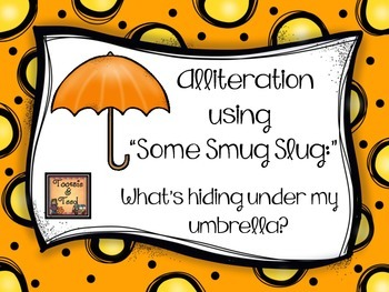 "Alliteration Using ""Some Smug Slug:"" What's Hiding Under M"