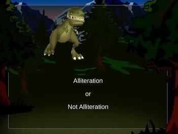 Alliteration or Not Alliteration Powerpoint