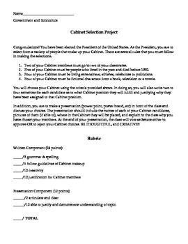 Allstar Presidential Cabinet Project