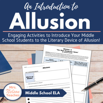 Allusions Introduction Power Point Presentation
