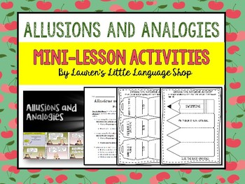 Allusions and Analogies