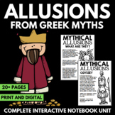 Allusions from Greek Mythology
