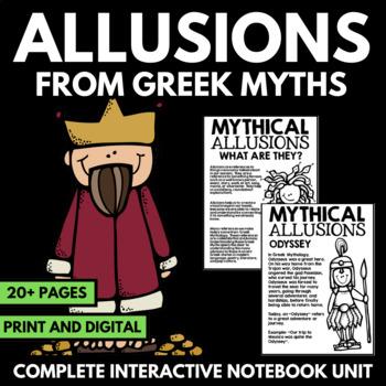 Greek Mythology Unit Allusions