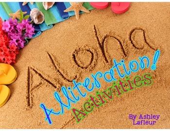 Aloha, Alliteration Activity Pack