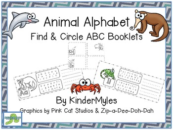 Alpha Animals Find & Circle Booklets