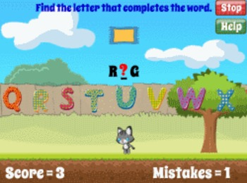 Alpha Cat - Alphabet and Phonics Reading Game (Playable at