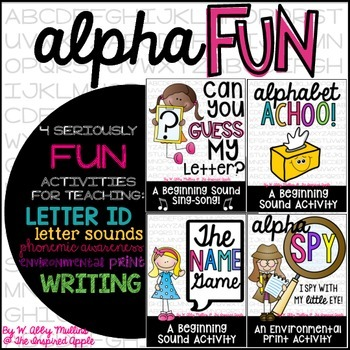 AlphaFUN! {a bundle of alphabet activities}