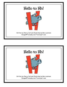 AlphaToons Guided Reader: Hello to Hh
