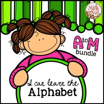 Alphabet Bundle for Letter of the Week {A to M}