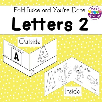 Uppercase Letters: Fold Twice and You're Done