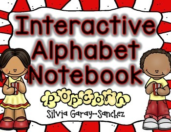 Alphabet A-Z Interactive Notebook Popcorn