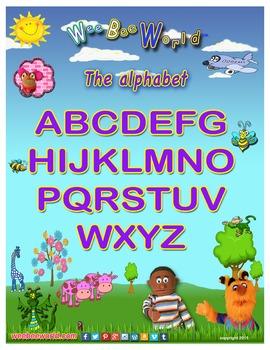 Alphabet A to Z Poster