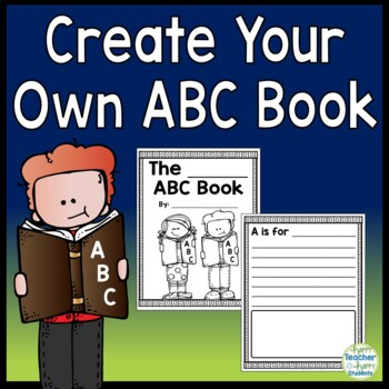 ABC Book - Create your own Alphabet Book for any topic