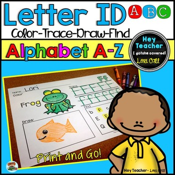Letter Recognition and Letter Sounds: Alphabet Activities