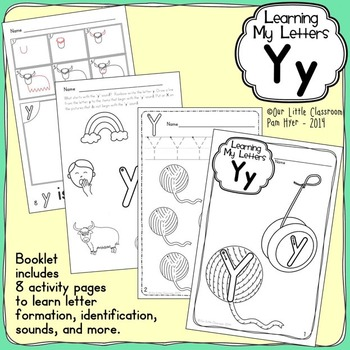 Alphabet Activities: Learning My Letters [Yy]