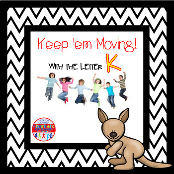 Alphabet Activities - Letter of the Week Bundle for the Letter K