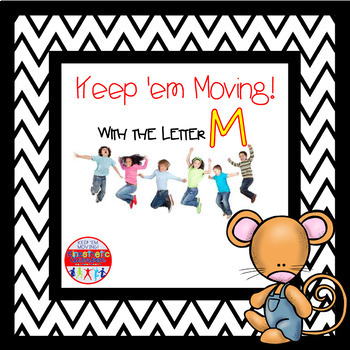 Alphabet Activities - Letter of the Week Bundle for the Letter M
