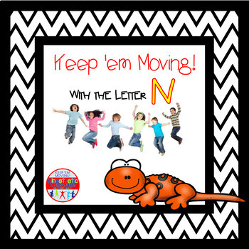 Alphabet Activities - Letter of the Week Bundle for the Letter N