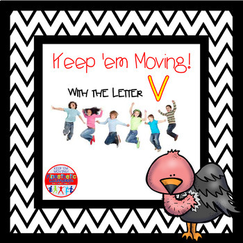 Alphabet Activities - Letter of the Week Bundle for the Letter V