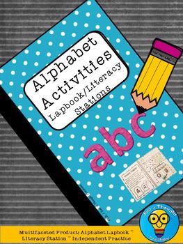 Alphabet Activities - Literacy Stations - Lapbook