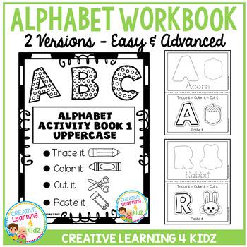 Fine Motor Skills Alphabet Book 1